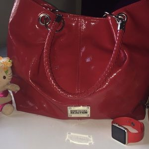 Red Kenneth Cole Purse